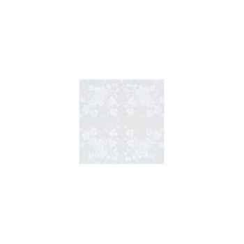 Nappe rectangulaire St Roch Vendange blanc pur coton 160x200 -00