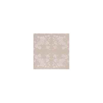 Nappe St Roch rectangulaire Vendange mastic pur coton 210x300 -35
