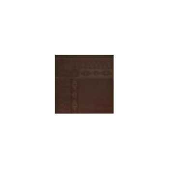 Nappe carré St Roch Salomée Chocolat -35