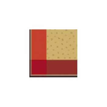 Nappe carré St Roch Sonate Rouge -59