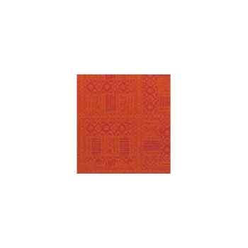 Nappe carrée St Roch Byzance paprika 160x160 -34