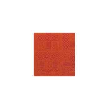 Nappe carrée St Roch Byzance paprika 180x180 -34