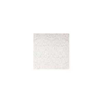 Nappe carrée St Roch Médicis blanc 160x160 -00