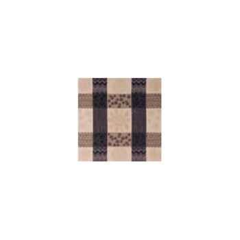 Nappe carrée St Roch Patchpop noir 180x180 -99