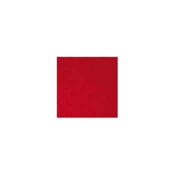 Nappe carrée St Roch Toscane carmin 180x180 -55