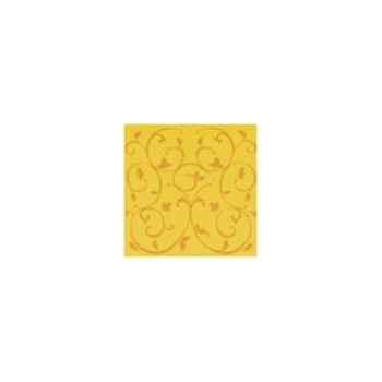 Nappe carrée St Roch Toscane soleil 180x180 -22