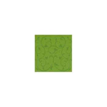 Nappe carrée St Roch Toscane anisé 180x180 -80
