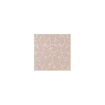 Nappe carrée St Roch Toscane mastic 180x180 -05