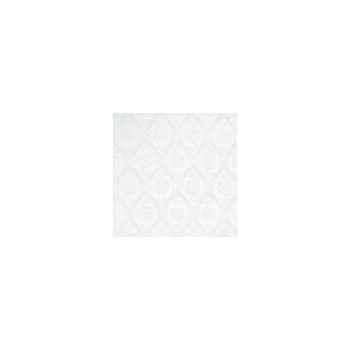 Nappe carrée St Roch Rosalie blanc 180x180 -00