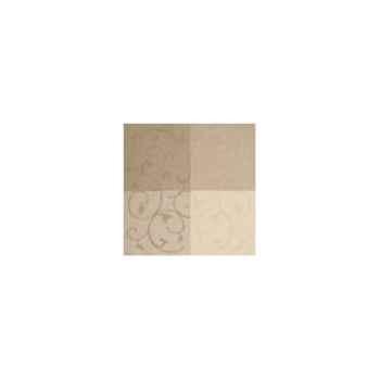 Nappe carrée St Roch Toscatival mastic coton enduit 180x180 -05