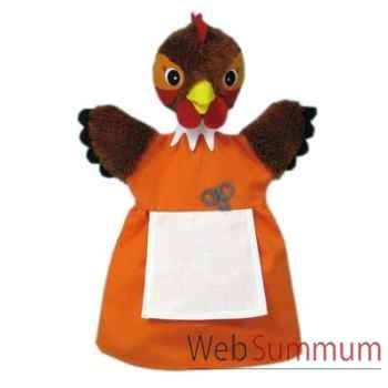 Marionnette à main anima Scéna poule rousse -17584