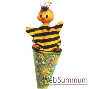 Marionnette marotte anima Scéna abeille - 13609