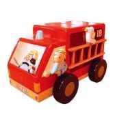 tirelire maison le coin des enfants camion pompier 01002