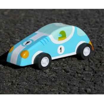 Voiture à friction Le coin des enfants voiture bleue -10363