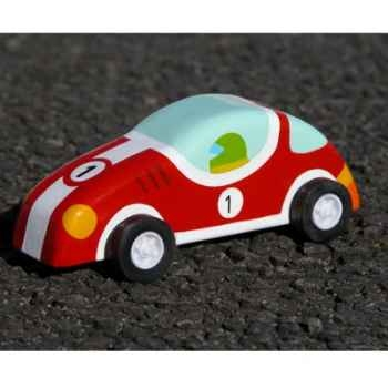 Voiture à friction Le coin des enfants voiture rouge -10370