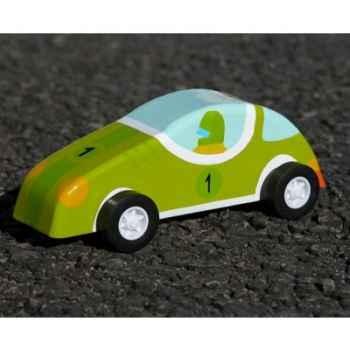 Voiture à friction Le coin des enfants voiture verte -10356