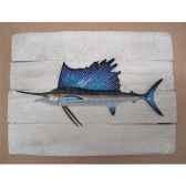 cadre poisson des tropiques cap vert espadon voilier cadr35