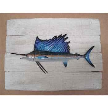 Cadre poisson des tropiques Cap Vert Espadon voilier -CADR35