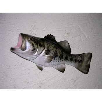 Mini sculpture relief Cap Vert Black bass -MSR002