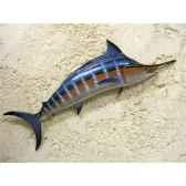 petite sculpture relief cap vert marlin bleu psr007