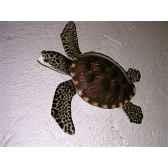 petite sculpture relief cap vert tortue marine psr010