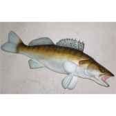 trophee poisson d eau douce cap vert sandre trdf09