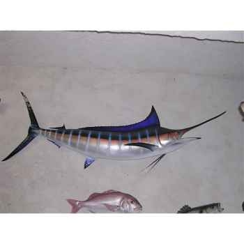 Trophée poisson des mers tropicales Cap Vert Marlin bleu -TR056
