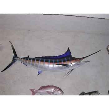 Trophée poisson des mers tropicales Cap Vert Marlin bleu -TR057