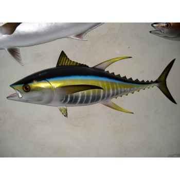 Trophée poisson des mers tropicales Cap Vert Thon jaune -TR066