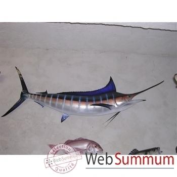 Trophée poisson des mers tropicales Cap Vert Marlin bleu -TRDF58
