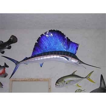 Trophée poisson des mers tropicales Cap Vert Espadon voilier -TRDF64