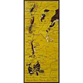 Carte des vins de Bourgogne Creartion -vdf-bou