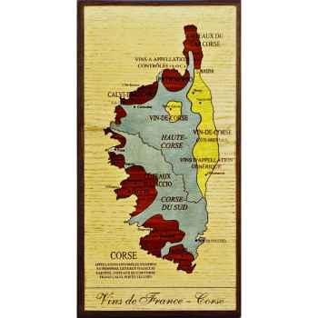 Carte des vins de Corse Creartion -vdf-cor