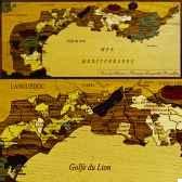 carte des vins de provence creartion vdf pro