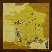 carte des vins de france creartion vdf