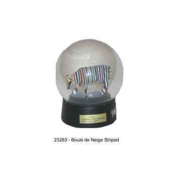 Boule de Neige Cow Parade Striped -23263