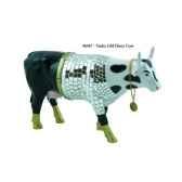 cow parade disco cow stamford 2000 46467