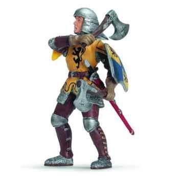 Figurine Schleich Fantassin, haches d'armes -70062