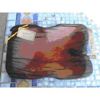 Coupe en bois de Teck Terre Sauvage -STB01