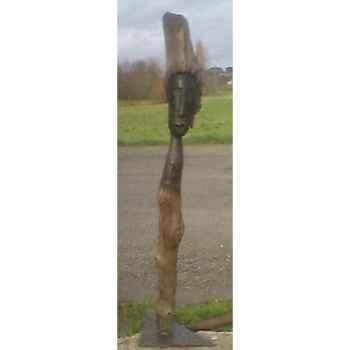 Sculpture personnage en bois flotte Terre Sauvage -DF01