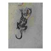 gecko pour mur en metarecycle terre sauvage wg01