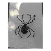grande araignee pour mur en metarecycle terre sauvage ws01