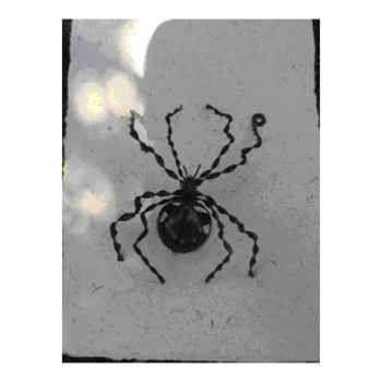 Grande Araignée pour mur en Métal Recyclé Terre Sauvage  -ws01
