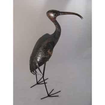 Ibis en Métal Recyclé Terre Sauvage  -ma55