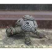 tortue en copeaux de en metaen metarecycle terre sauvage cmt01