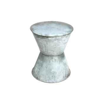Tabouret en Métal blanc Hindigo -JE67WHI