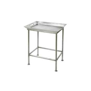 Table Métal set 2 gris clair Hindigo -JE13LGREY