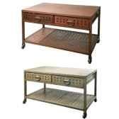 table 2 tiroirs noir hindigo je59black
