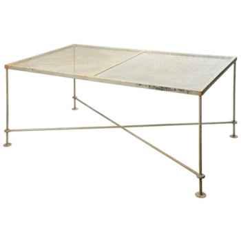 Table basse finition Acier Hindigo -JE62ACI