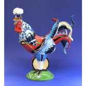 figurine coq poultry in motion drumsticks pm16714